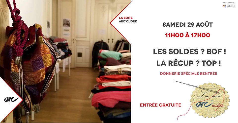 Donnerie spéciale vêtements & école – événement en journée 11h-17h