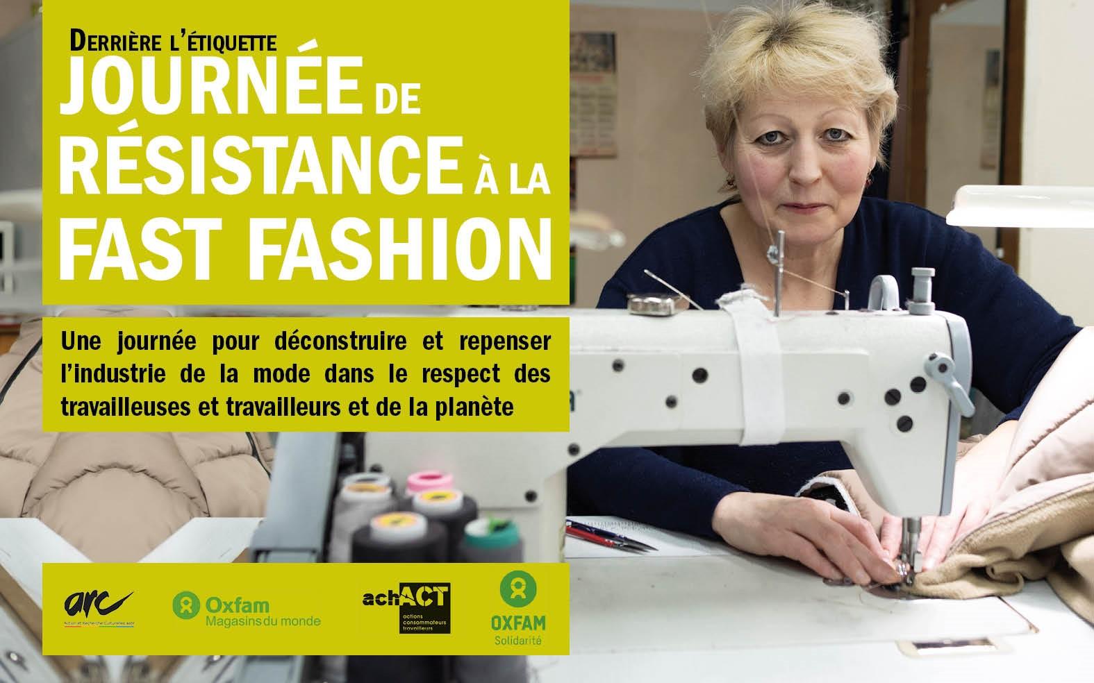 Derrière l'étiquette : Journée de résistance à la Fast Fashion