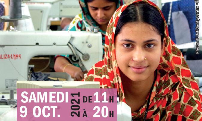 Derrière l'étiquette : Journée de résistance à la Fast Fashion (en journée)